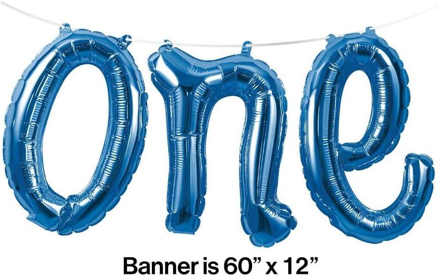 Color Azul Guirnalda de Bolas Creative Convertting 8C324818 152 x 30 cm