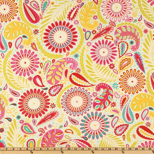 Kumari Garden Sanjay Pink Fabric By The Yard