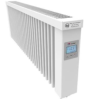 Charmant AeroFlow Radiateur électrique Slim 1200 Avec Briques Réfractaires Et  Multi Contrôleur FlexiSmart (Andorid Et