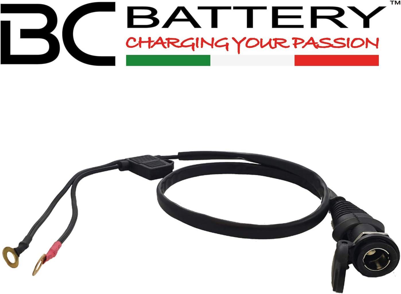Bc Battery Controller 8059070587050 Din4165 12v Zigarettenanzünderbuchse Bordsteckdose Für Motorrad Durchmesser 12 Mm Auto