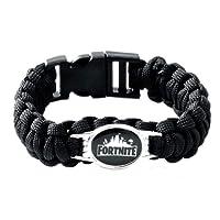 Bracelets de Fortnite,Bracelet de Tissage pour Enfants Garçons Filles Adultes, Cadeaux De Fête d'anniversaire pour Enfants Fortnite Gamer