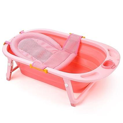 Bañera Bañera plegable para bebés Bañera para bebés Recién nacido ...