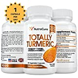 NutraCura Turmeric CurcumIn with Bioperine – Joint Pain Relief – Reduce Chronic Inflammation – Improve Memory – 15x Strength – 90 x 750mg Veggie Capsules – 3 Months Supply – Made in the USA Review