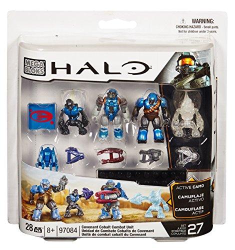 Mega Bloks 97084  Halo Covenant Combat Cobalt Unit