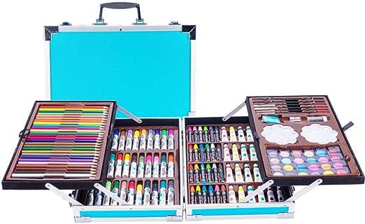 pomelogreem Adecuado para Dibujo Infantil,Caja de Aluminio 144 con ...