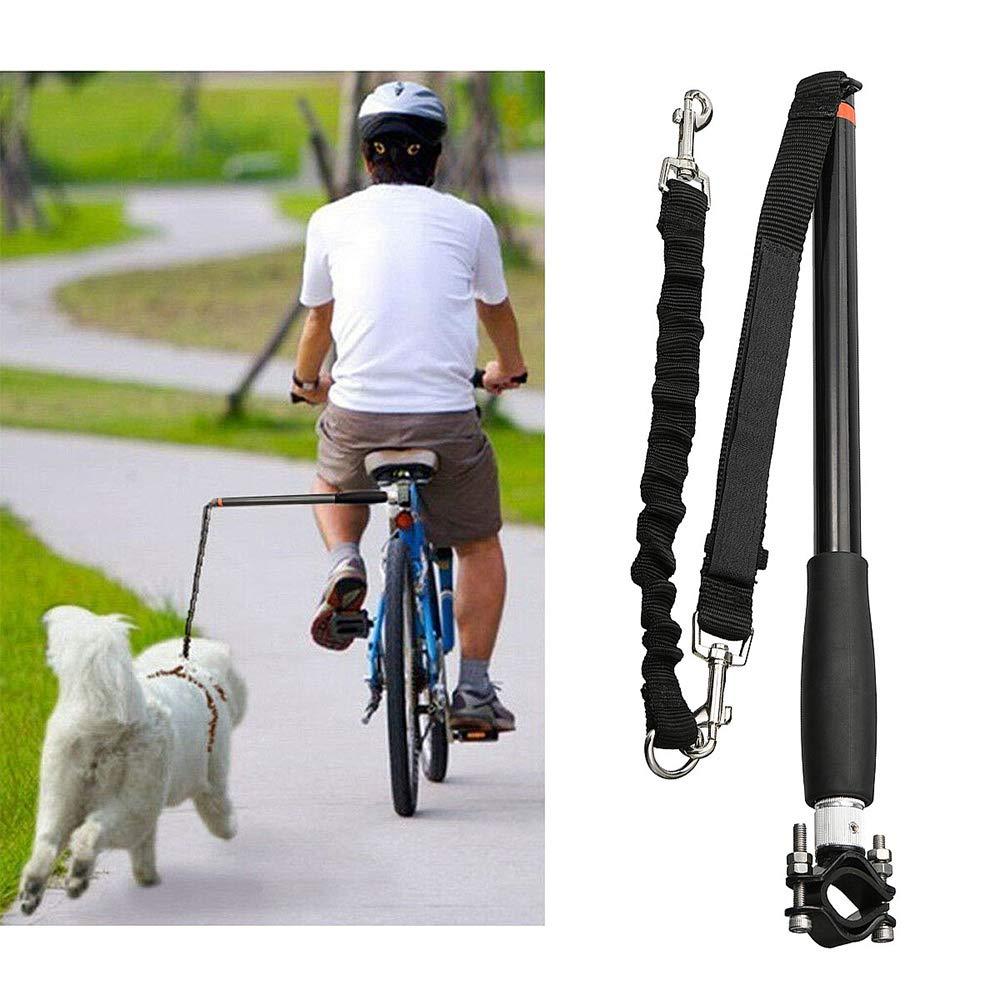 Weehey Correa para Mascotas para Perros Ejercicio para Bicicleta Manos Libres Paseos en Bicicleta Accesorio para Accesorios