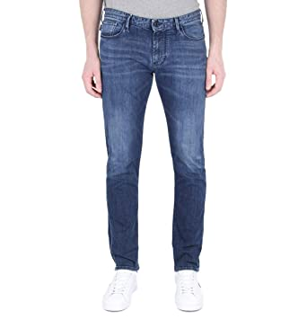 Armani J06 - Pantalones Vaqueros Ajustados para Hombre ...