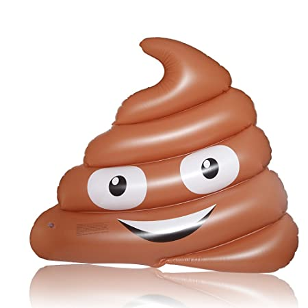 DMAR Inflable Poop Emoji Flotador de Piscina Gigante Juguetes inflables Divertidos de la Playa del Mar del Agua del Colchón de la Balsa: Amazon.es: Juguetes ...