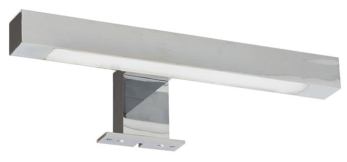 17 opinioni per Ranex Lampada LED da Specchio, Argento