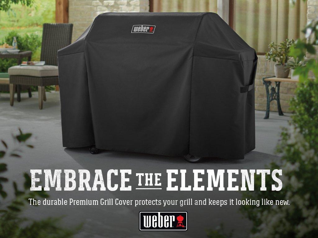 Weber 7131 Genesis II Grill Cover, Black by Weber