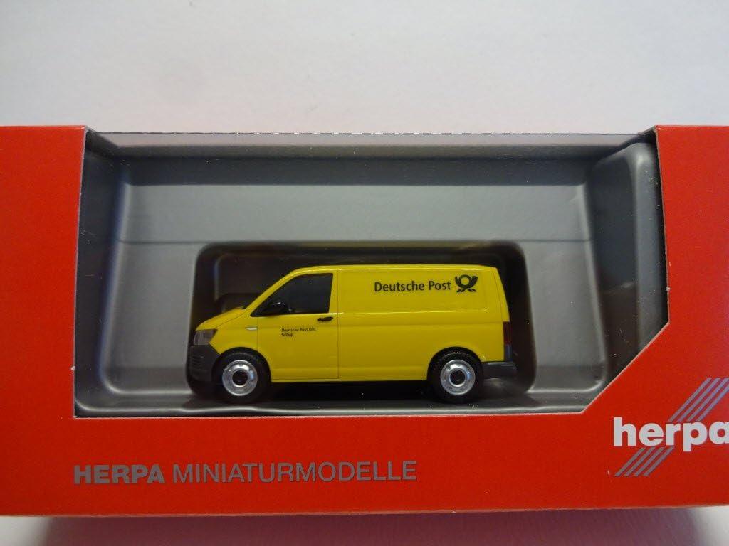 herpa 93026/VW T6/Crafter Deutsche Post Modell Set