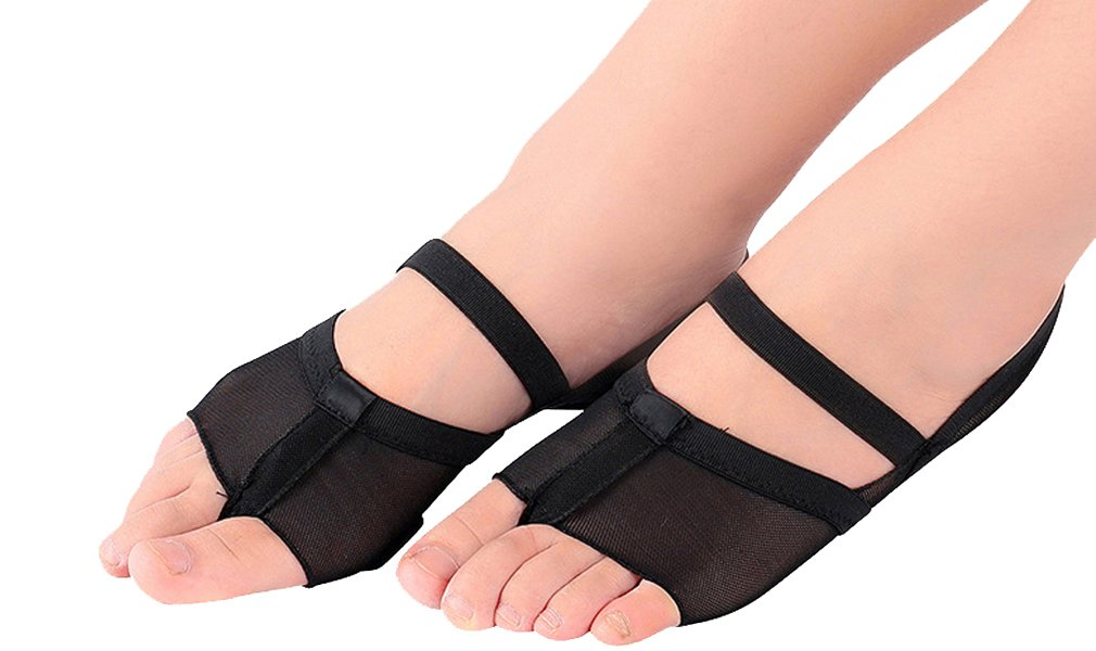 Amazon com UPRIVER GALLERY Forefoot Pads Half Lyrical Shoes Shoes Fitness For Dance Ballet Dance