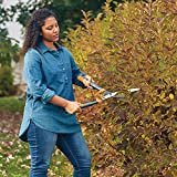 "Fiskars Garden 392861-1002 Powergear2 Hedge Shears, 23"", Black/Orange"