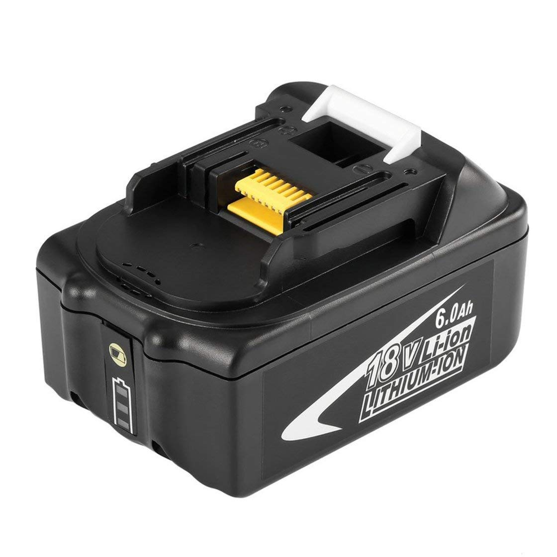 Herramienta portátil eléctrica de reemplazo de batería de de ión de Litio de de 18 V 6AH 6000 mAh, fácil de Manejar para MAKITA BL1850 9f9fff