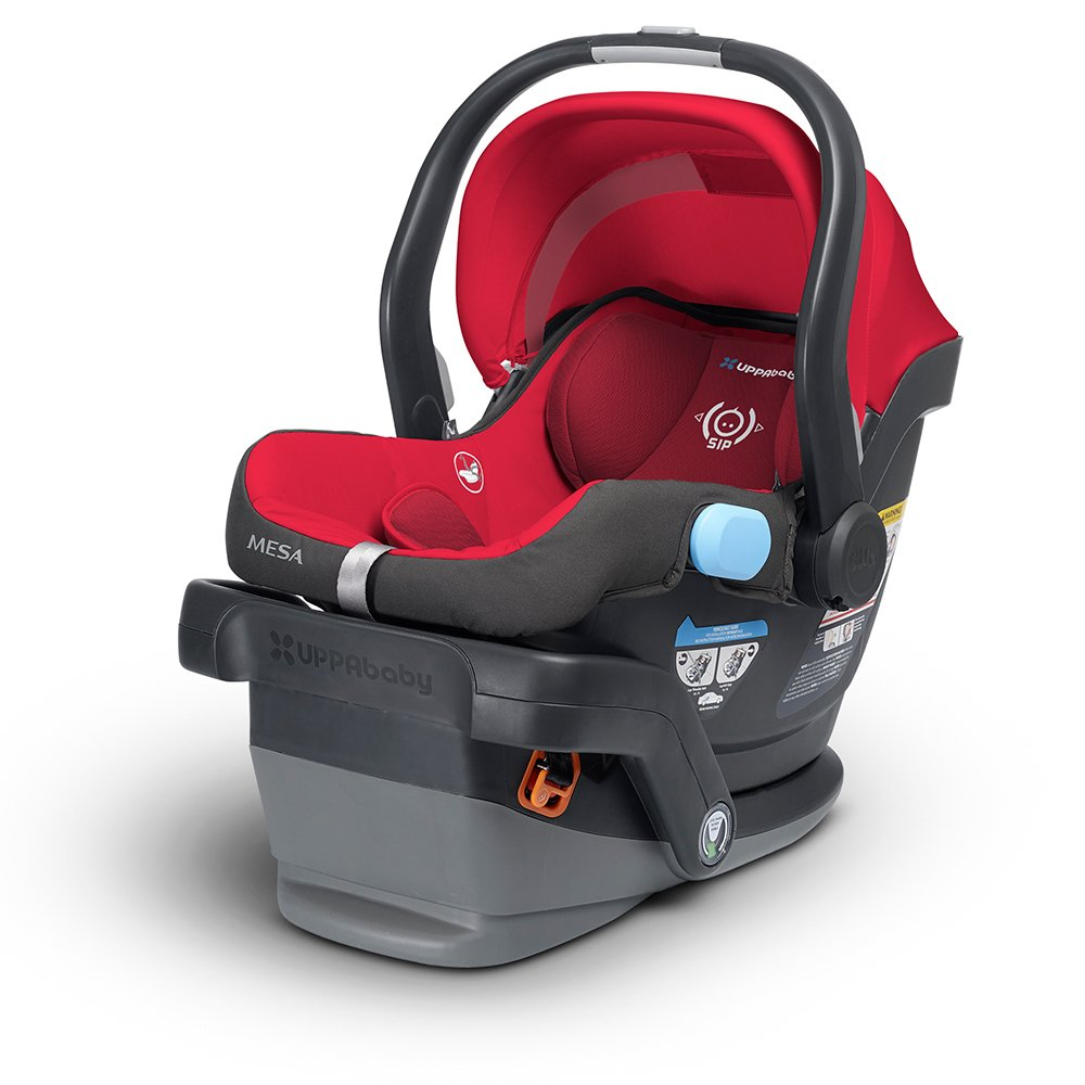 Amazon.com : UPPAbaby MESA Infant Car Seat, Denny (Red) : Baby