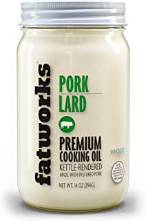 product image for Fatworks USDA Premium Pasture Raised Pork Lard, Sourced Exclusively from U.S. Small Family Farms, WHOLE30 APPROVED, KETO, PALEO, 14 oz.