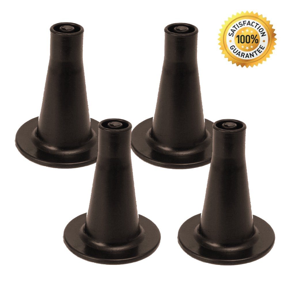 Suedy's Place Bed Frame Feet That Replace Your Wheels. Replacement Feet Allow Your Bed To Be Stationary Without Damaging Your Floor. Set of 4