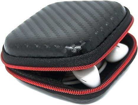 AirPods caso, 6amLifestyle portátil con cremallera duro protector auricular auriculares caja bolsa para Apple AirPods: Amazon.es: Electrónica