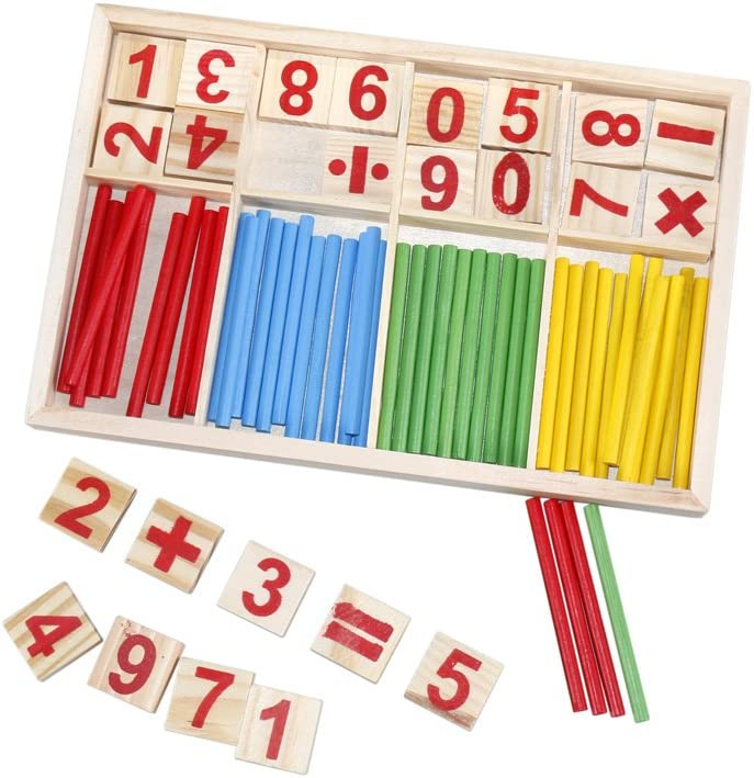 Alytimes Counting Stick Calculation Math Educational Toy