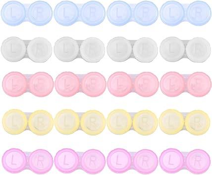 ROSENICE Estuche para lentes de contacto Caja de lentes de ...