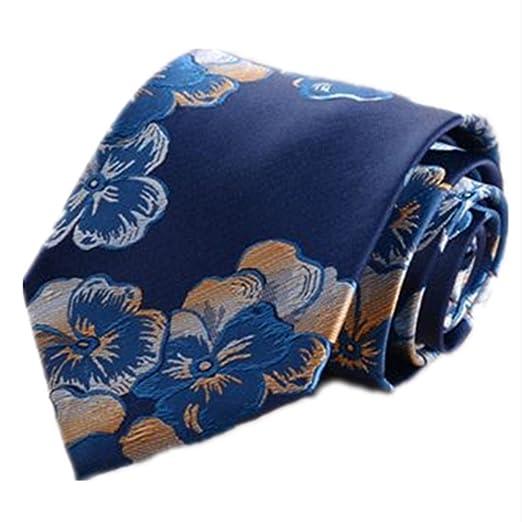 Corbata de Hombre Corbata Tie Clip Traje Joker Hombre Azul ...