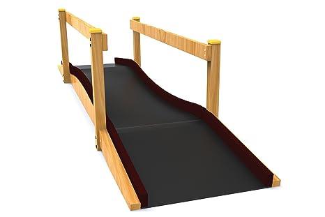 Kidunivers Rampa con acceso directo 5,4 m para silla de ruedas para niños de
