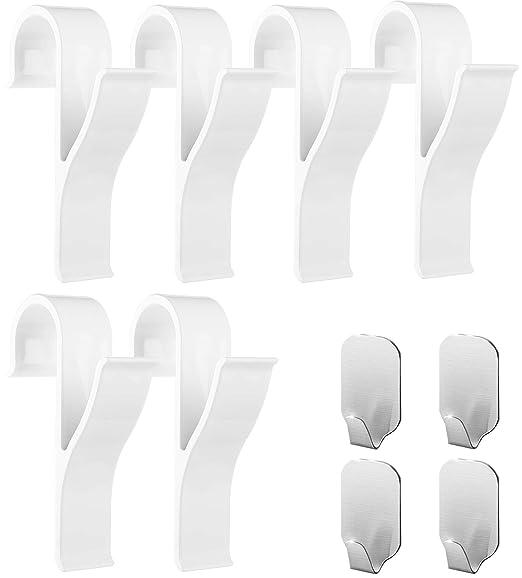 Ganchos para toallero para radiador (lote de 10) - 6 ganchos ...