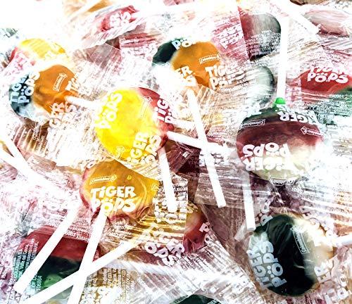 (Tiger Pops Original Assorted Fruit Flavor, Bulk Pack (Pack of 2 Pounds))