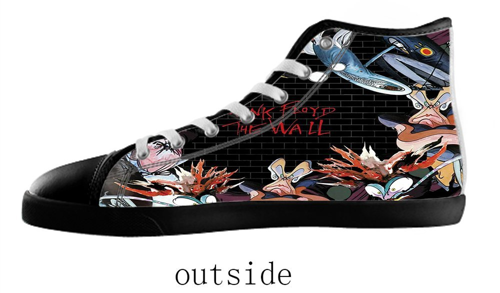 Women's Rock Style High Top Canvas Shoes Rock Style Canvas Shoes for Women EUR35=US5|Black2