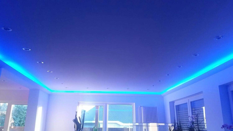 2 Meter Indirekte Beleuchtung LED Lichtprofile Wand Stuckleiste Profil BL14