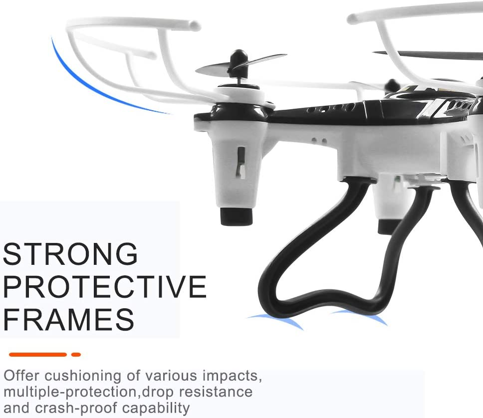 Walmeck JX815-2 RC Mini Drone for Kids 2.4G 4CH RC Quadcopter Toy Headless Mode 360 Degree Flip for Beginners