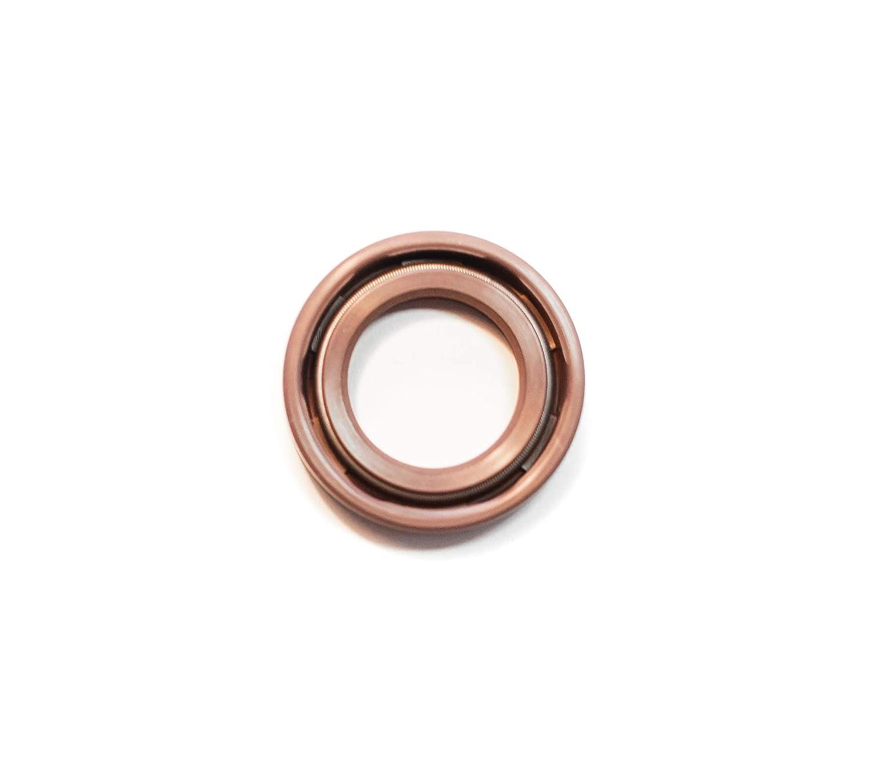 17mmx28mmx7mm Single Metal Case w//Viton Rubber Coating Oil Seal 17X28X7 Viton Oil Seal Grease Seal TC  EAI Double Lip w//Garter Spring 0.669x1.102x0.276