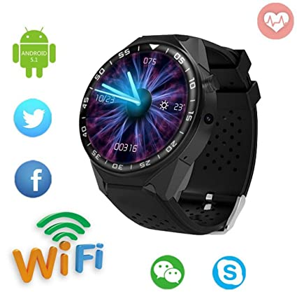 Amazon.com : CYGG Touch Screen Fitness Smart Watch, GSM 8G ...