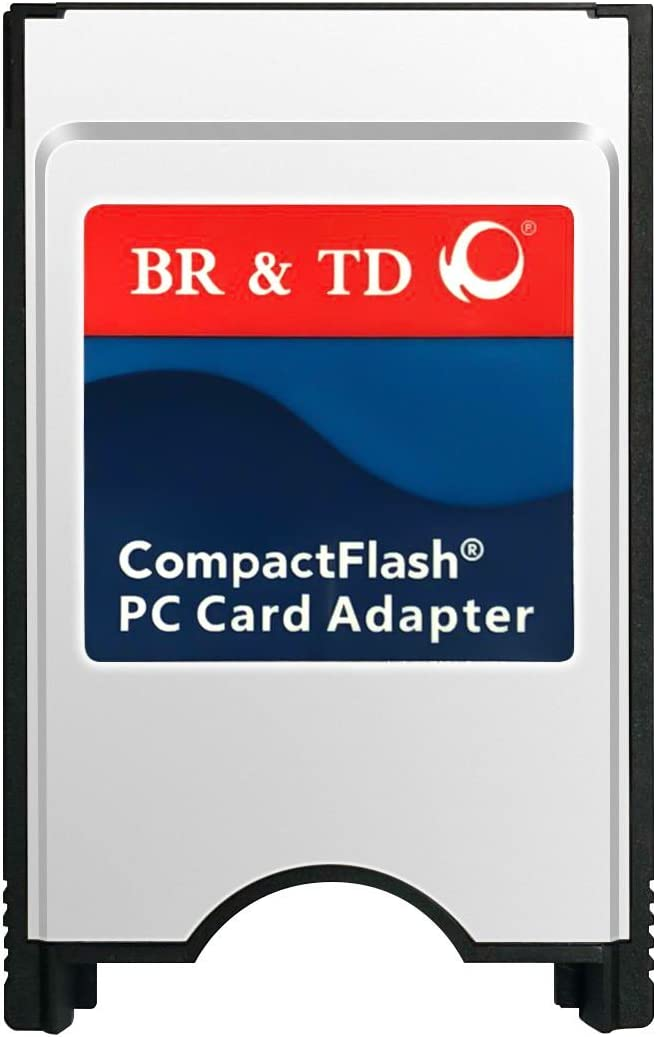 BR & TD CompactFlash PC Card Adapter