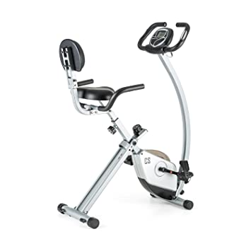 Capital Sports Trajector bicicleta estática plegable (dispositivo de entrenamiento con manillar de 1,4