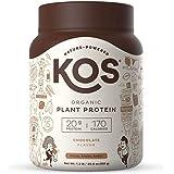 KOS Organic Plant Based Protein Powder, Chocolate - Delicious Vegan Protein Powder - Gluten Free, Dairy Free & Soy Free…