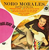 Noro Morales - Holiday In Havana - 12'' vinyl LP - Design DCF-1039 stereo - Afro-Cuban Latin jazz cheesecake
