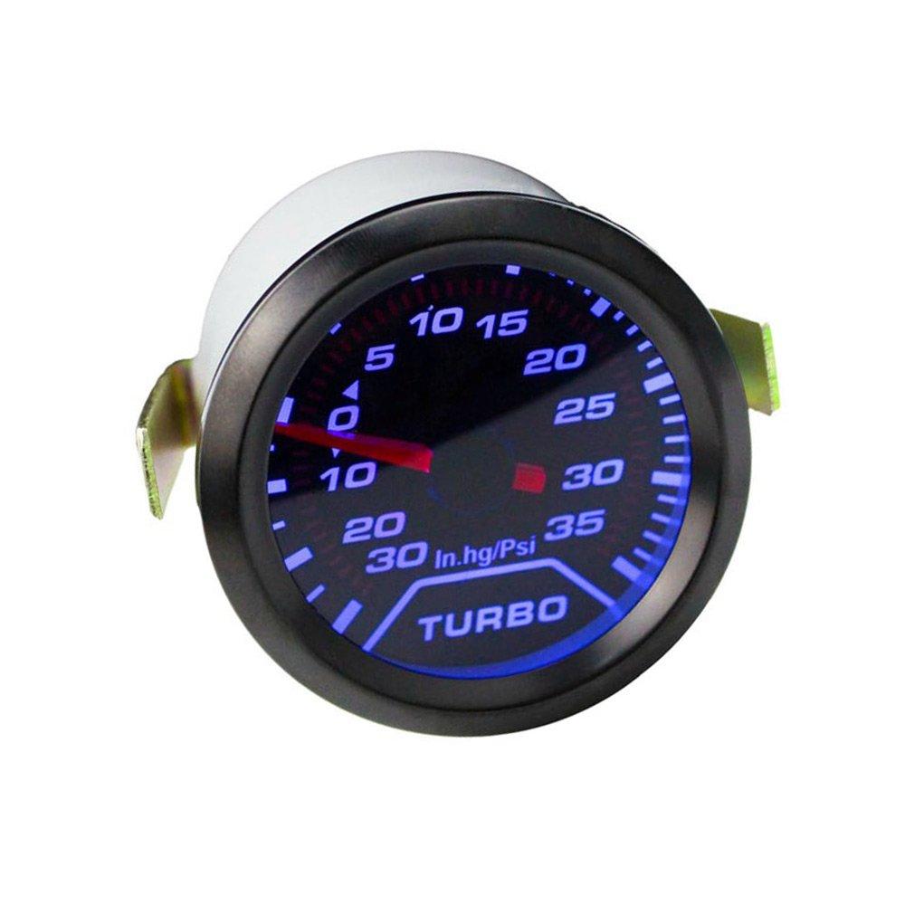 Rokoo 2 '52 mm pression de presse d'huile plus de voiture numé rique LED mè tre de teinte de jauge 0-150 psi