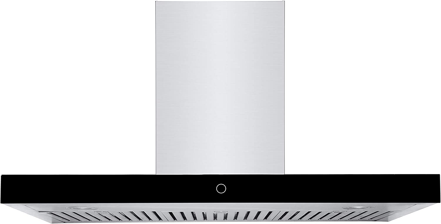 "Hauslane | Chef Series Range Hood: WM-739 36"" Wall Mount Kitchen Fan 