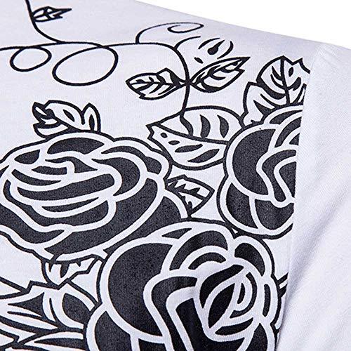 Weant Pullover Felpa Maglia XXL Cappuccio Felpe Uomo Maglione S Felpe Shirt Tumblr Bianca Maniche Uomo Lunghe Magliette Nero con Top Uomo T Maglietta Top Uomo Maglietta Bianco Uomo Blouse rwrqHB