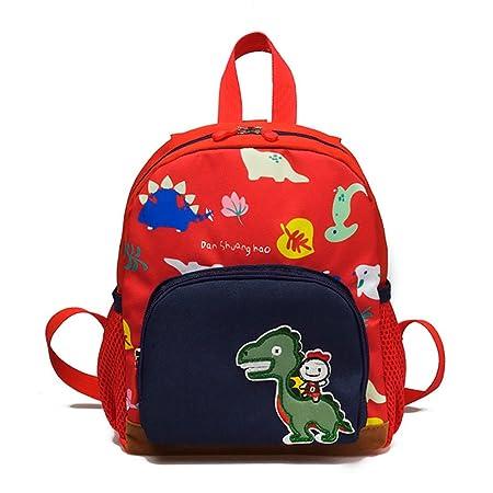 Baby Boys Girls Kids Bag Dinosaur Pattern Cartoon Backpack Toddler School Bags