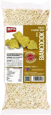 BPR Nutrition Fiocchi d/'avena aromatizzati 1 KG vari gusti colazione spuntino