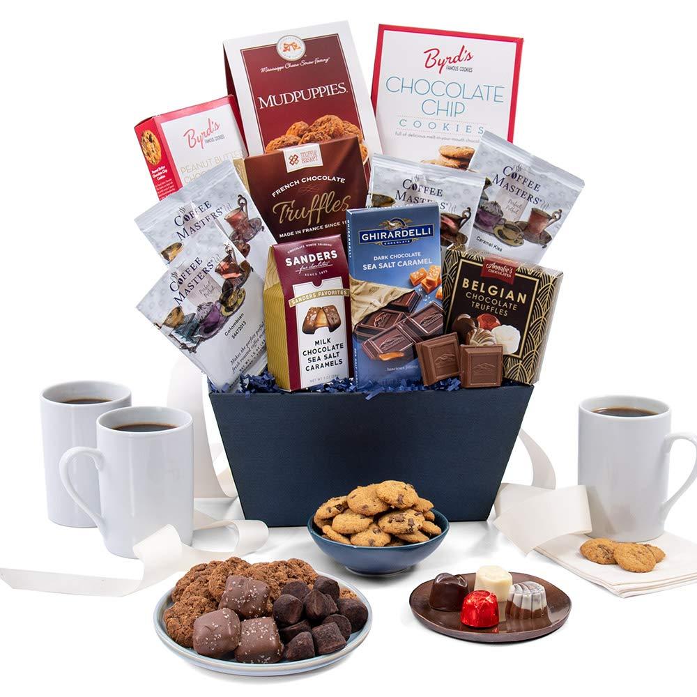 Coffee & Chocolates Gift Basket Classic