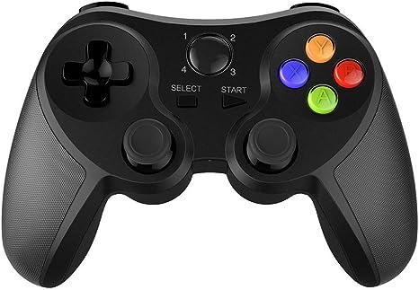 Mando de Juegos, PC de Control, conexión Bluetooth Velocidad, Diseño fácil de Usar, para Smartphone/Tablet/Smart TV/PC: Amazon.es: Deportes y aire libre