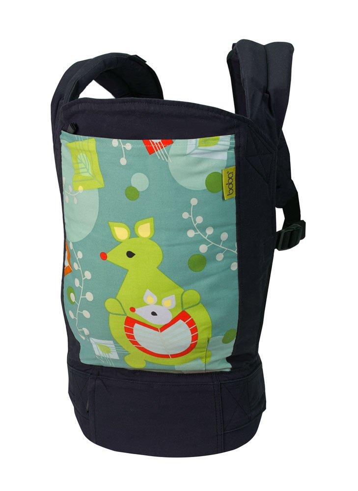 Boba BC4-018-SLAT Komfortbabytrage mit Fußstützen für große Kinder, Bauch- und Rückentrage Bauch- und Rückentrage