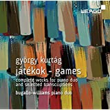 G. Kurtag: Jatekok - Games: Complete Works for Piano Duo and selected transcriptions from Machaut to Bach