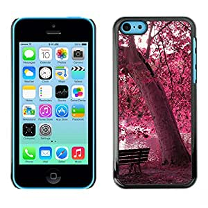 LauStart ( Red Forrest Park ) iPhone 5C Arte & dise?o plš¢stico duro Fundas Cover Cubre Hard Case Cover para