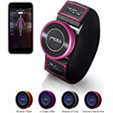 MOTi Fitness Tracker Monitors All Workout & Exercises for Weight Lifting Strength Training Bodybuilding Works with Android & iOS App Includes Coaching Program