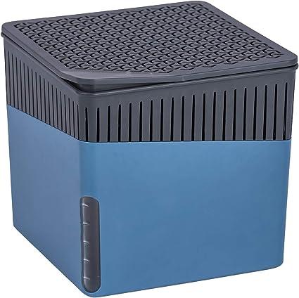 4er Pack Wenko 50261100 Design Raumentfeuchter Cube Nachfüller Orange 500g