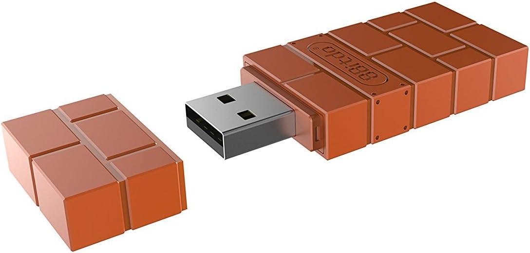 Adaptador inalámbrico Bluetooth QUMOX para Nintendo Switch, Windows, Mac y Raspberry Pi